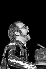 Elton John, Hamburg, 1971, by Heinrich Klaffs
