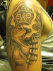 Aztec Princess Tattoo of an