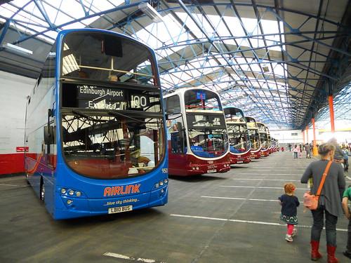 Current Lothian Buses Lineup