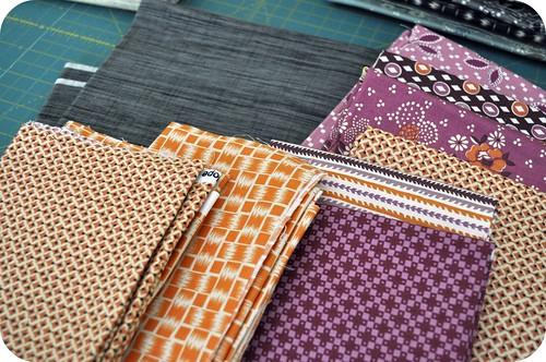 PTS | Fabrics selected!
