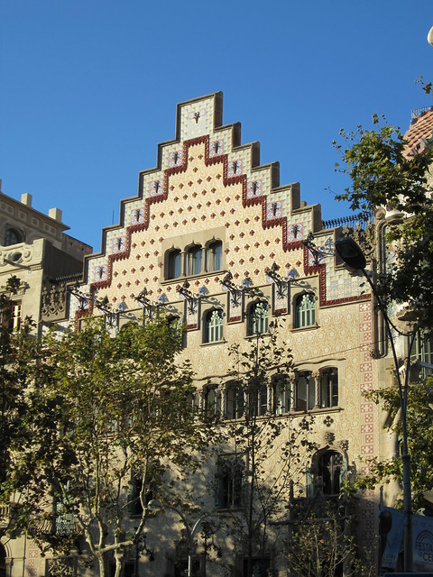 Casa Amatller by Josep Puig i Cadafalch