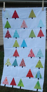 Little Forest Quilt Along top