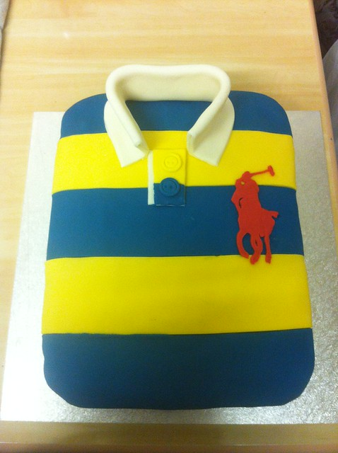 Cake Polo Shirt Design : Unknown Host