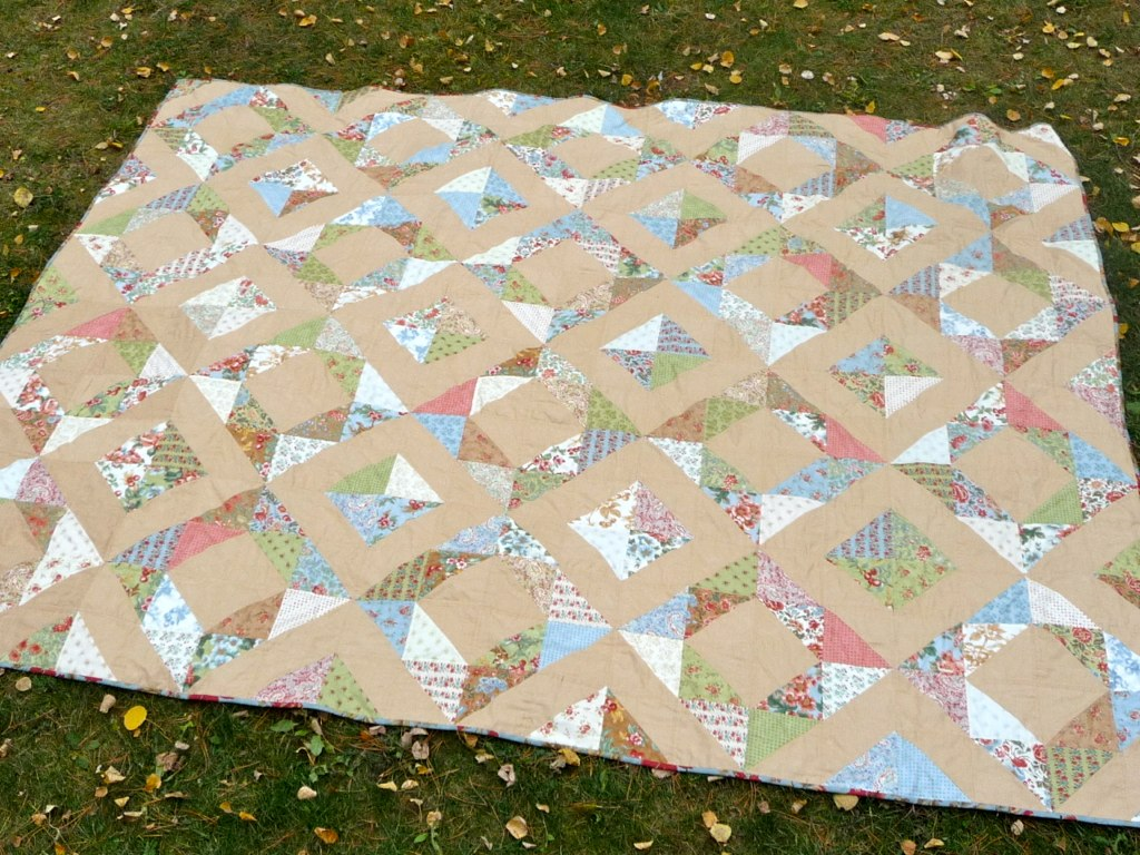 Nostalgic Diamonds Quilt
