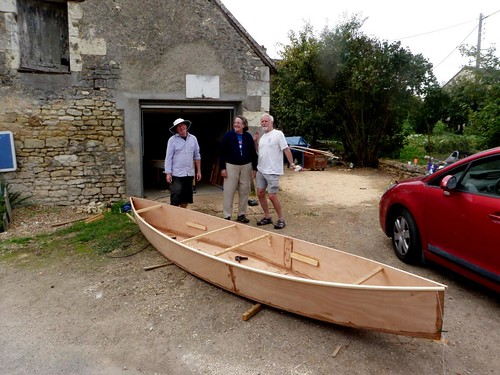 Going to another country and building plywood canoes quickly.  Storer Boat Plans