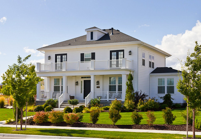 White Foursquare Luxury House | Flickr - Photo Sharing!