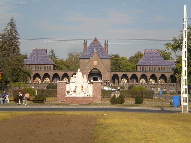 Crematorio del cementerio de Debrecen