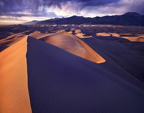 Great Sand Dunes - Colorado - 4x5 Velvia 50