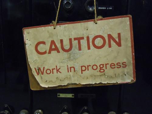 Work in Progress by Kevan