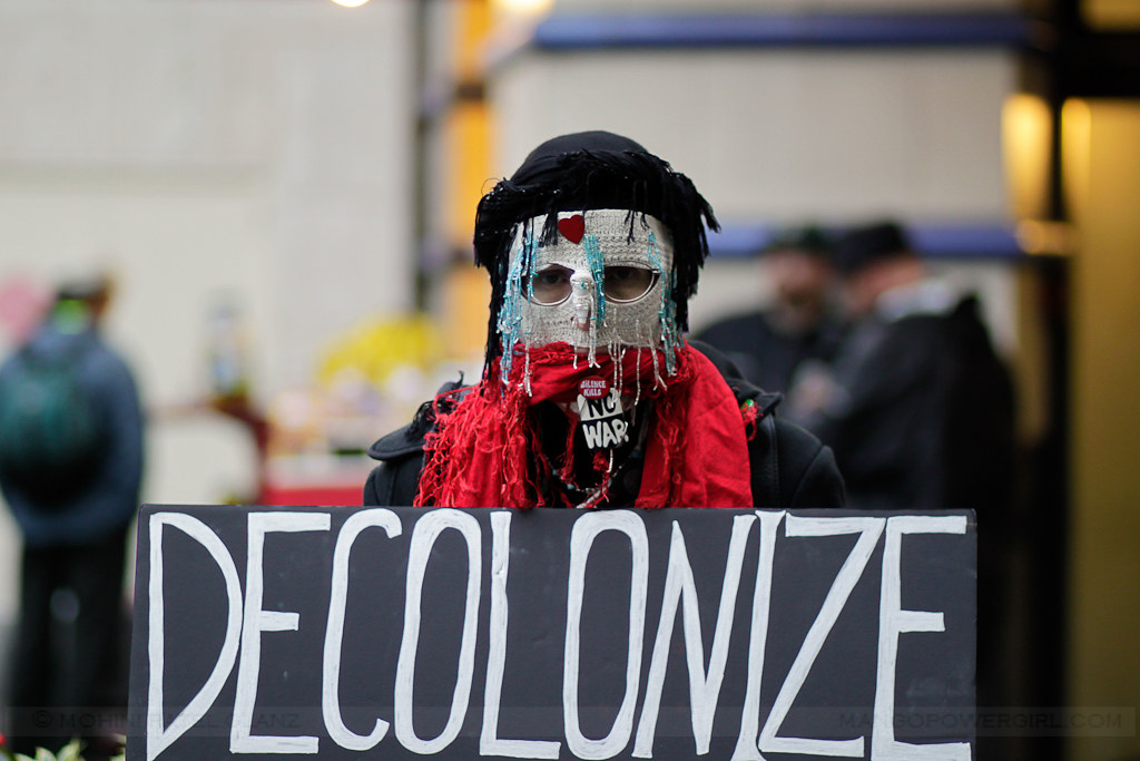 occupy seattle - decolonize