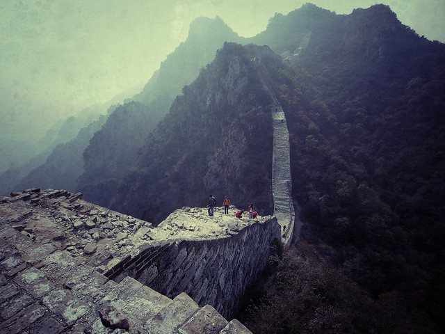 Hiking the wall
