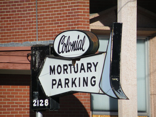Mortuary Parking