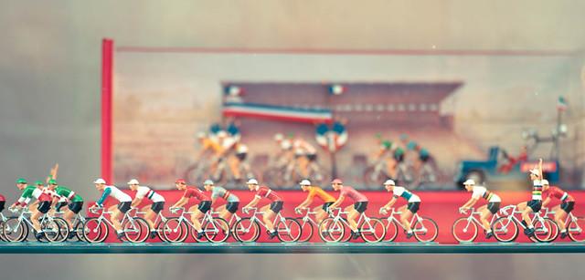 Vintage Tour De France Toy Cyclists