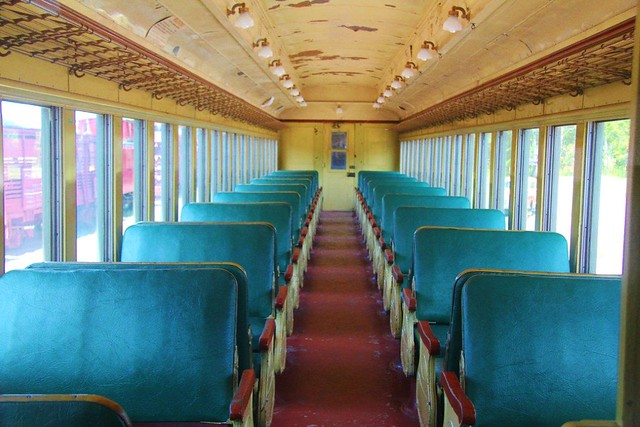 railroad passenger car interior flickr photo sharing. Black Bedroom Furniture Sets. Home Design Ideas