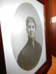 Photograph on glass, believed to have been made by Spencer Trask, of Katrina's mother