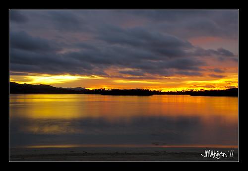 sunset atardecer playa panama panamá playónchico