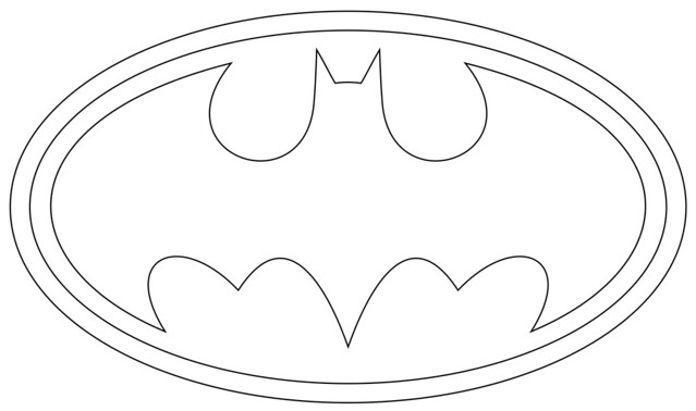 Batman Logo Outlines Flickr Photo Sharing