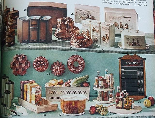 Vintage 1960s kitchen decor flickr photo sharing for 1960s decoration