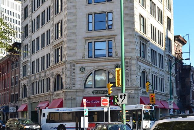 Front and Rear Argyle facades