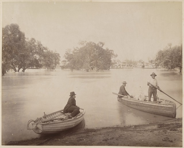 Views of scenery on the Darling & Lower Murray during the flood of 1886