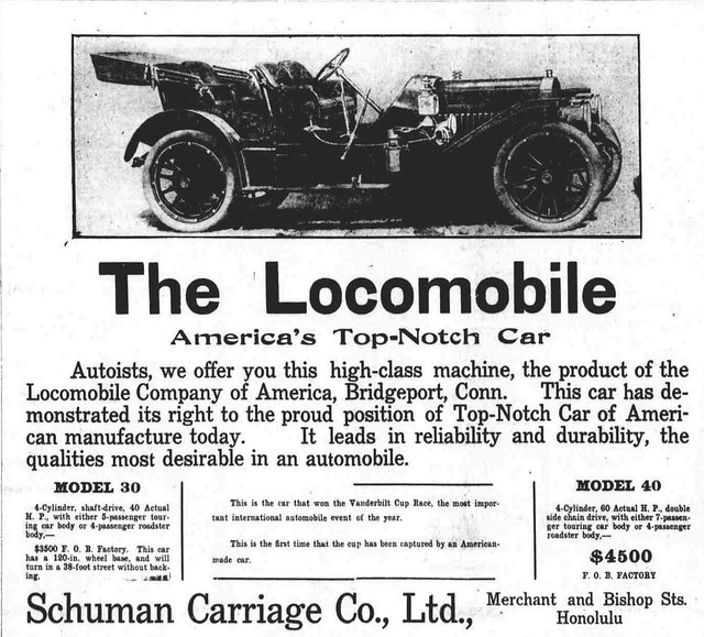 Ad The Locomobile America 39 S Top Notch Car Flickr