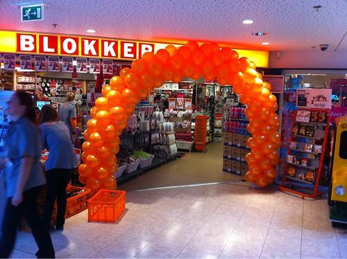 Ballonboog 6m Blokker Alblasserdam