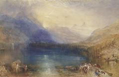 Lake of Zug, Early Morning, 1843, by JMW Turner