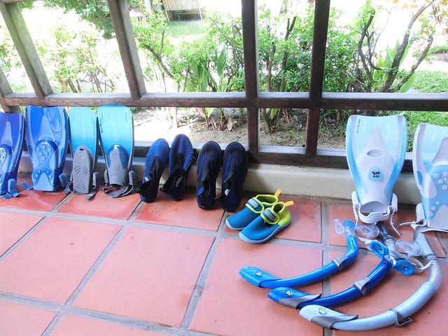 Nha Trang Vietnam Snorkeling gear