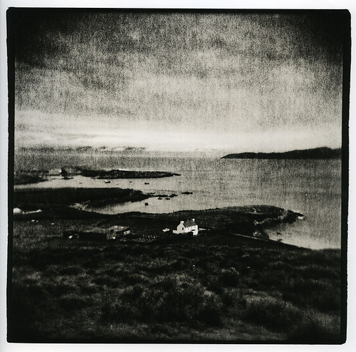 Seaview and House, Co Kerry, Ireland (Lith Print)