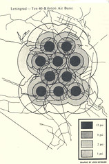 10 40-kiloton weapon attack on Leningrad