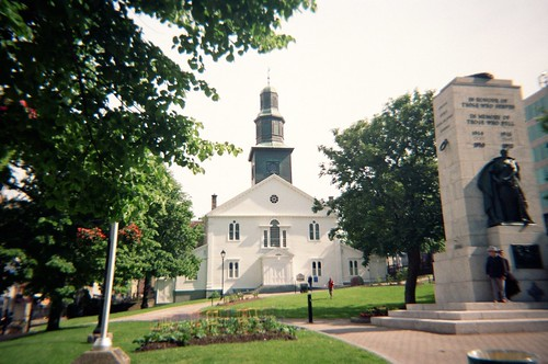 Parade Square and St. Paul's Church