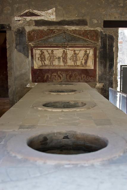 Pompeii Fast Food Restaurant