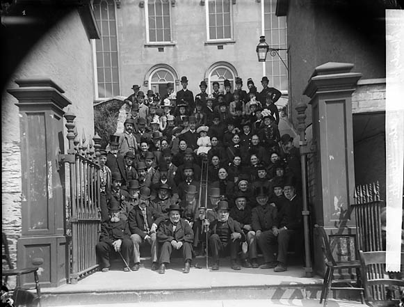 [Adults of Tabernacle Chapel (CM), Aberdyfi]