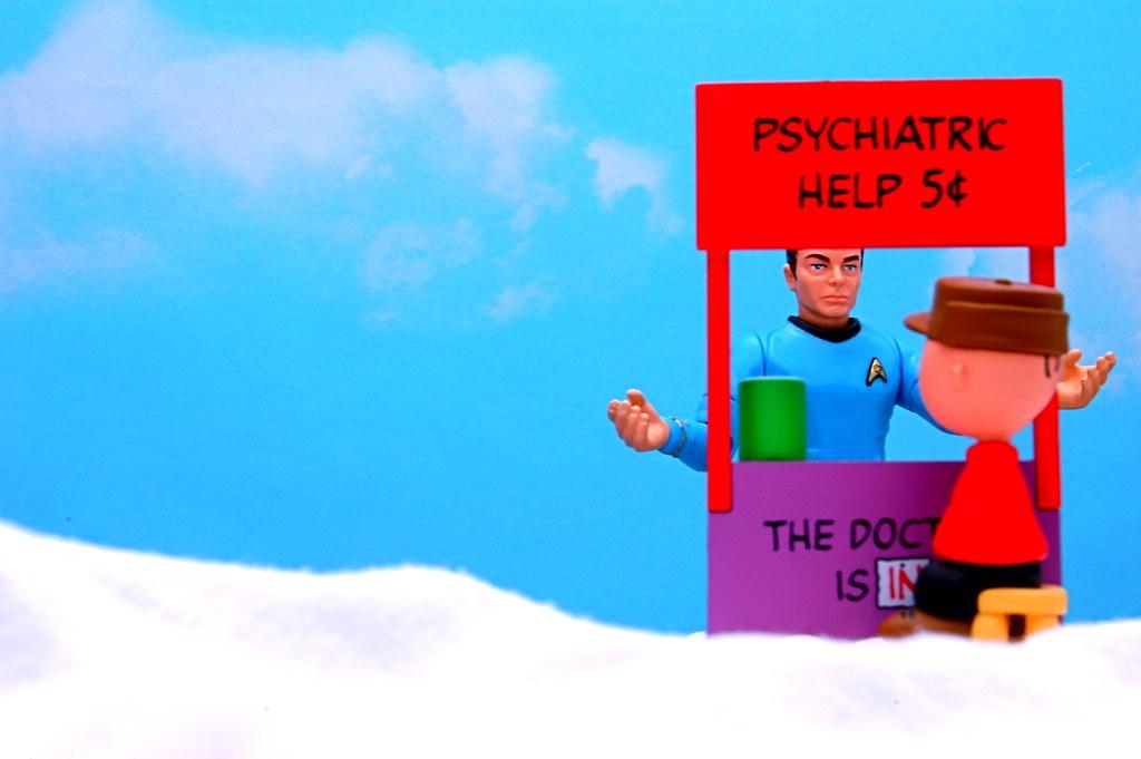 """I'm a doctor, not a psychiatrist!"""