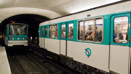 Paris Metro Republique Station