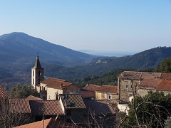 Vue du village de Vero