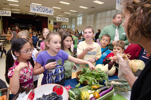 Farm to school programs are mutually beneficial – kids get fresh fruits and vegetables and farmers build a new customer base.