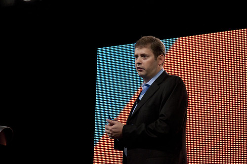 "Cameron Purdy, JavaOne 2011 San Francisco ""Java Strategey Keynote"""