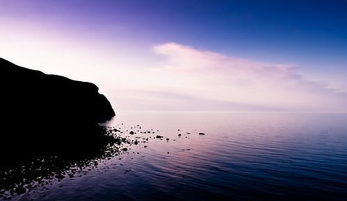 uk sea cliff water silhouette wales gb llandudno conwy lightroom3 canonefs1855mmf3556is