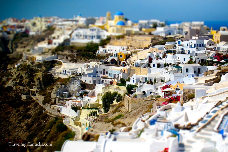 Santorini Greece Miniature