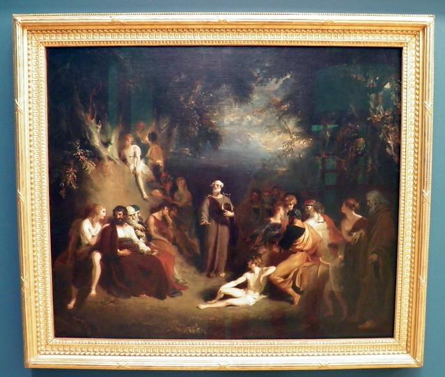 Homer Reciting his Poems - Sir Thomas Lawrence (1790), Tate Britain, London
