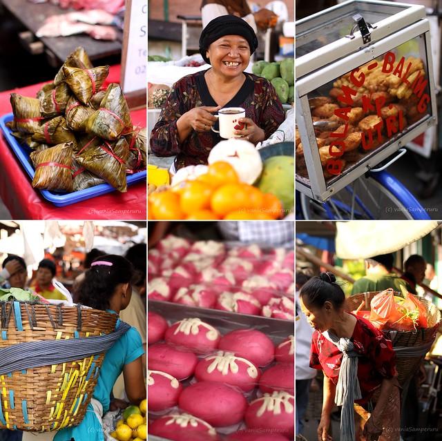 Gang Baru Market, China Town, Semarang