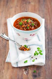 Lentil and Bulgur Soup
