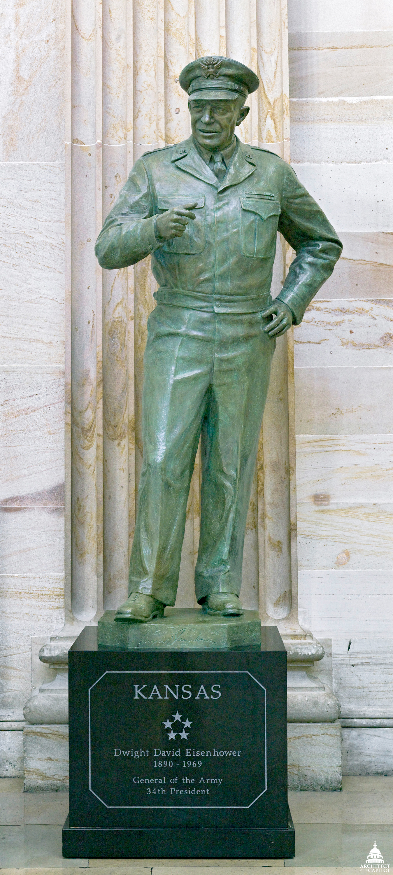 Dwight D Eisenhower Architect Of The Capitol