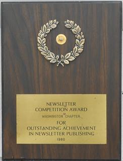 Washington - NAA Newsletter Award (1980)