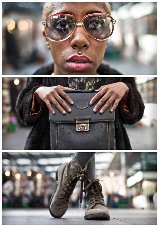 Triptychs of Strangers #23, The Kharise Francis herself