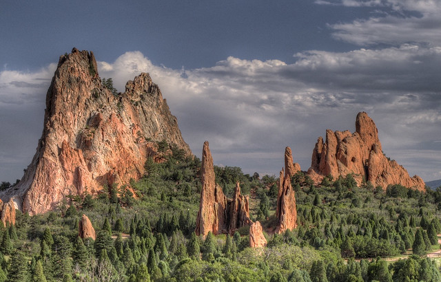 Garden of the Gods, Colorado by CC user snowpeak on Flickr