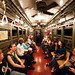Vintage 1920s NYC Subway Train by navid j