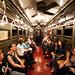Vintage 1920s NYC Subway Train by navid j