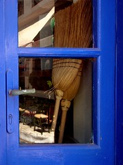 Blue window - Koroni - Grecia